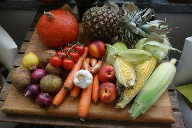 healthy fruit and veg