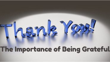 the importance of being grateful