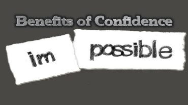 benefits of confidence