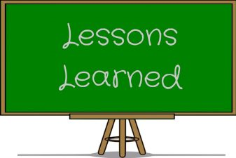 Lessons Learned (What Life Experience Teaches Us)